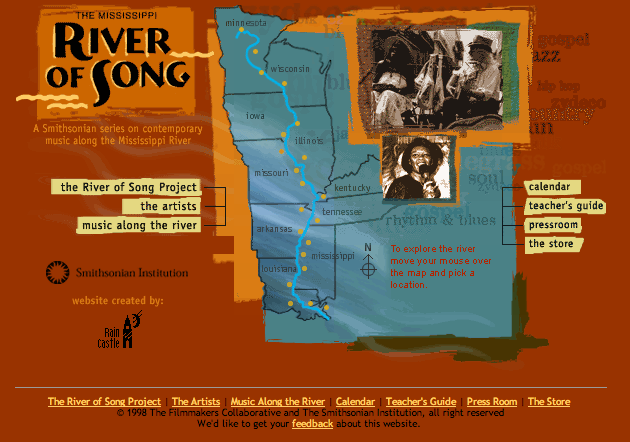 River of Song project website